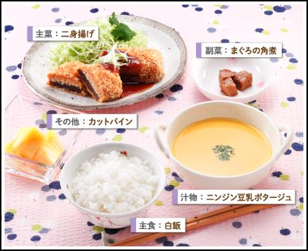 メニュー 糖尿病 週間 食事 1